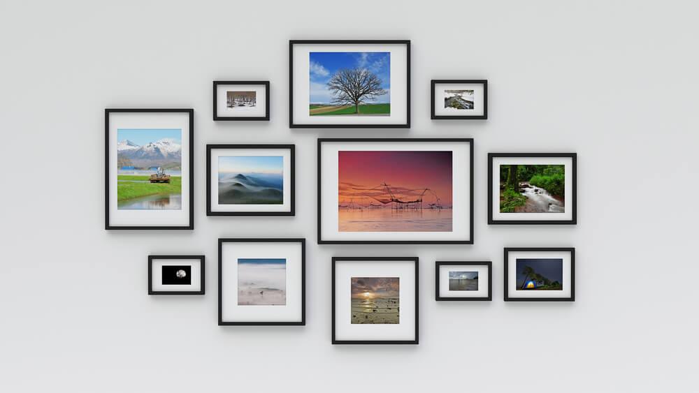 Een mooie collage aan de muur: 8 tips en tricks