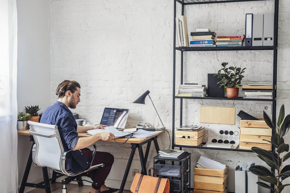 Een klein kantoor thuis inrichten doe je goed met onze handige tips!