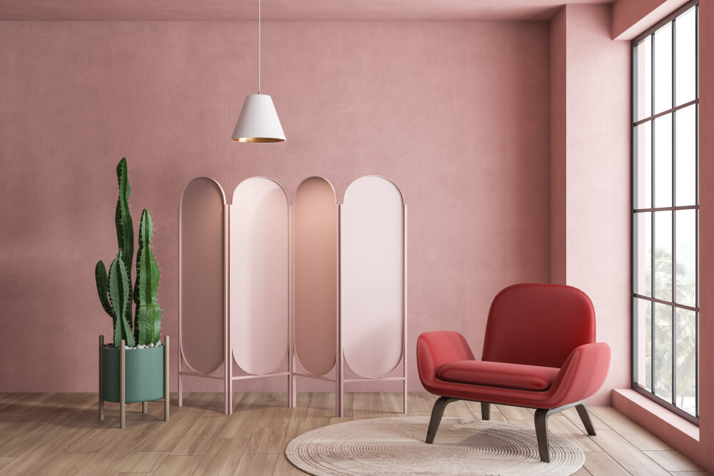 Kleurtrend interieur 2021: knallen met roze en rood