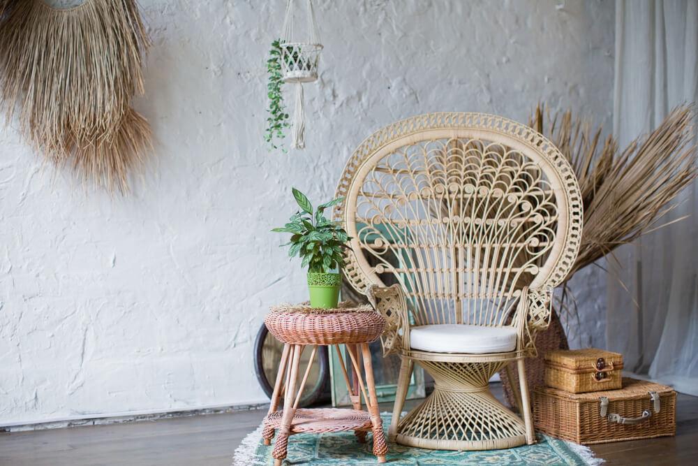 De hippe peacock chair stylen: zó kun je 'm kwijt in jouw interieur