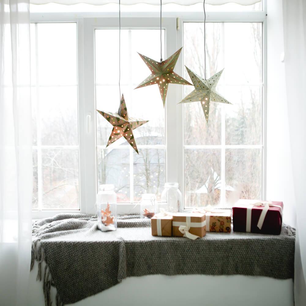 DIY kerstdecoratie tips: zelf kerststerren maken