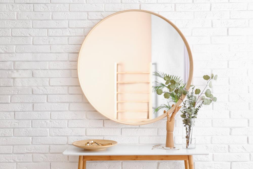 Grote ronde spiegel