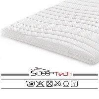 6. SleepTech Topdekmatras topper traagschuim-Nasa-Visco 120x200 7 CM