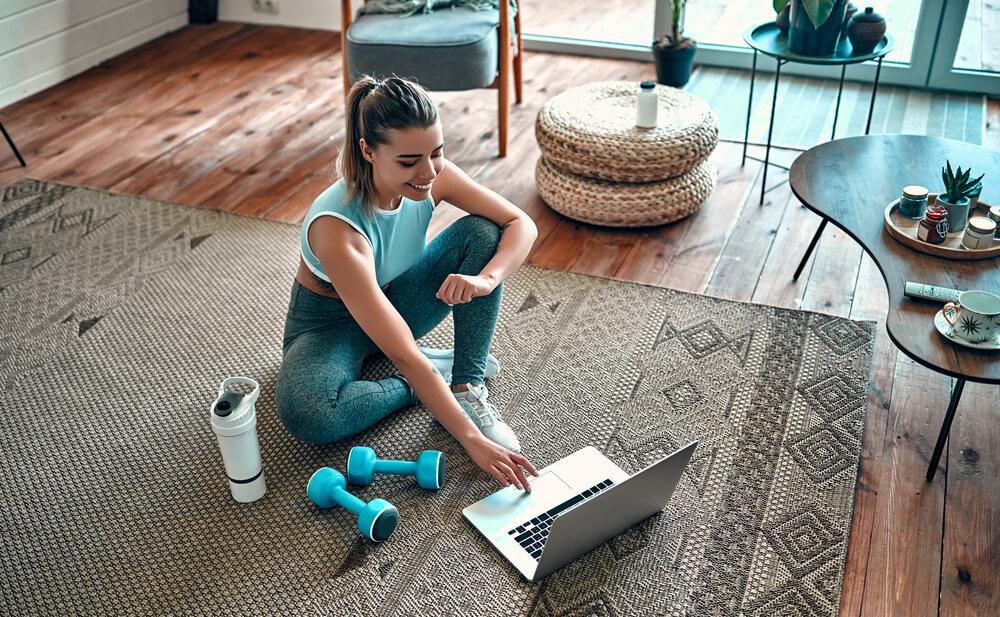 5 slimme tips voor sporten in huis