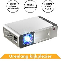 6. Beamer projector Full HD van In Round