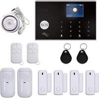 7. Turgard Draadloos Alarmsysteem Touch - 4 Deur Raamsensoren