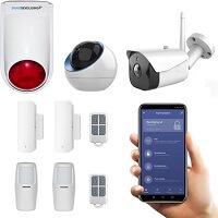 6. WiFi GSM Draadloos alarmsysteem voor woning