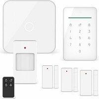 1. ELRO AS90S Home+ Slim Draadloos Alarmsysteem