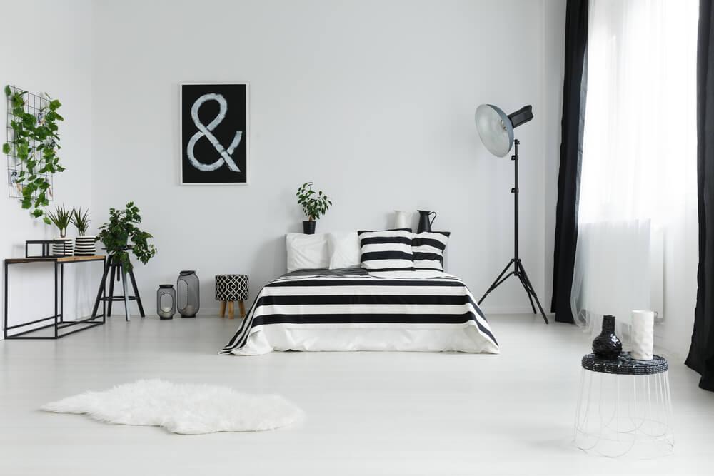 Zwart in de slaapkamer: prachtige voorbeelden en inspiratie