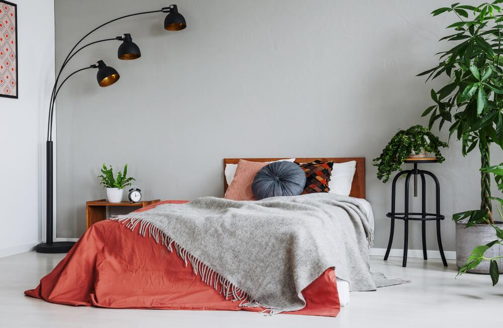 Rode slaapkamer: romantisch en sfeervol
