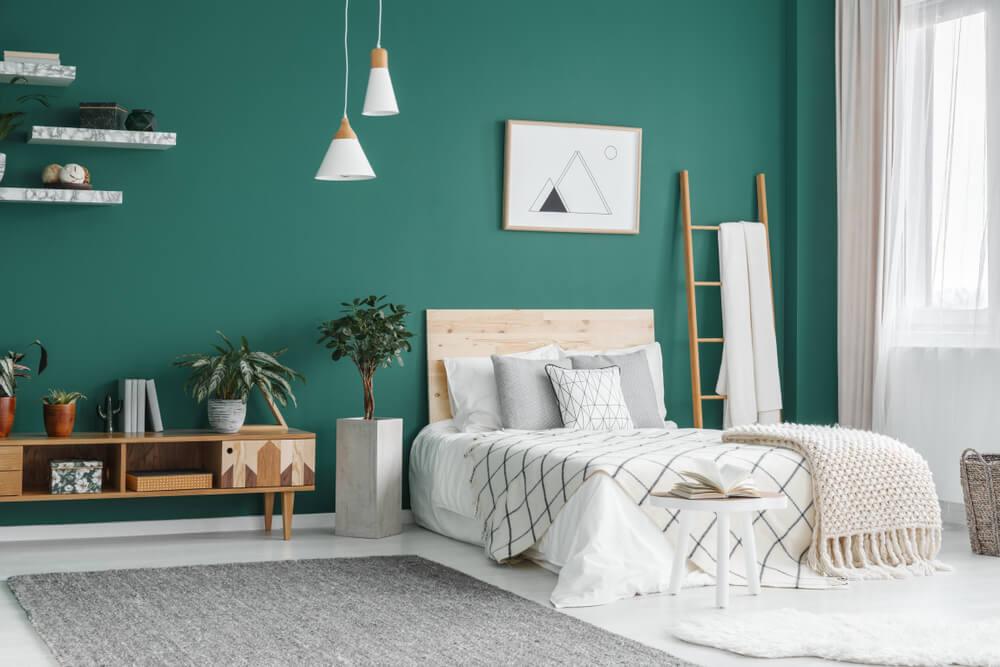 Groene slaapkamer: haal de natuur naar de slaapkamer