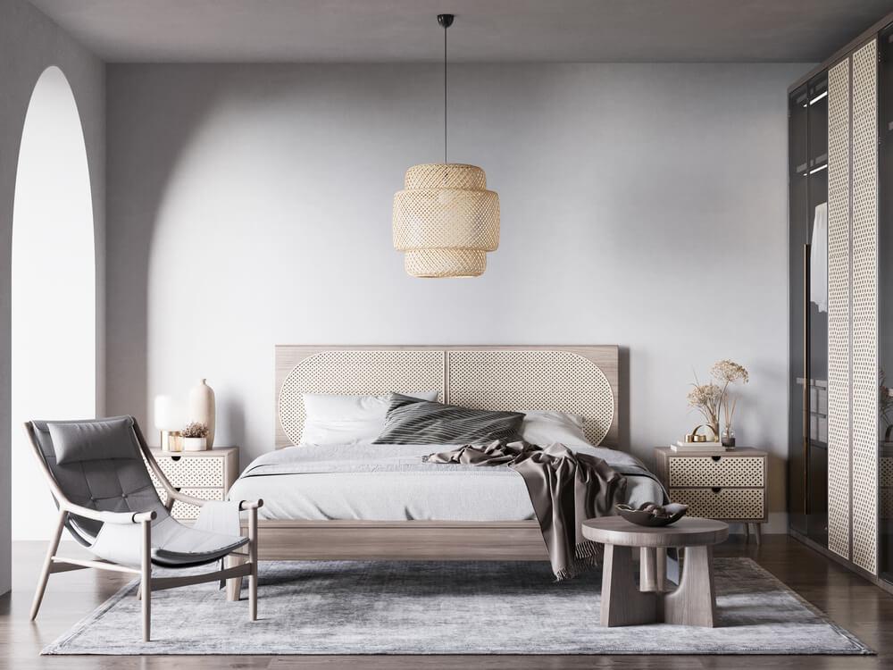 Zand en beige in de slaapkamer: zacht en gezellig