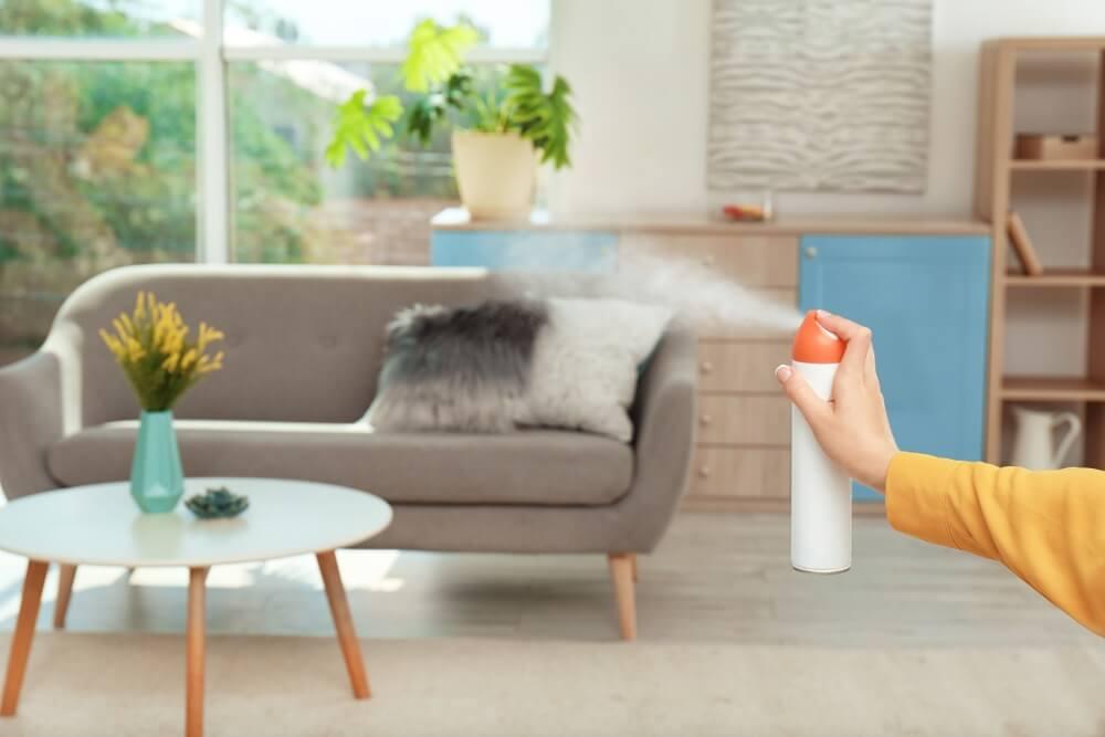 Luchtverfrisser woonkamer