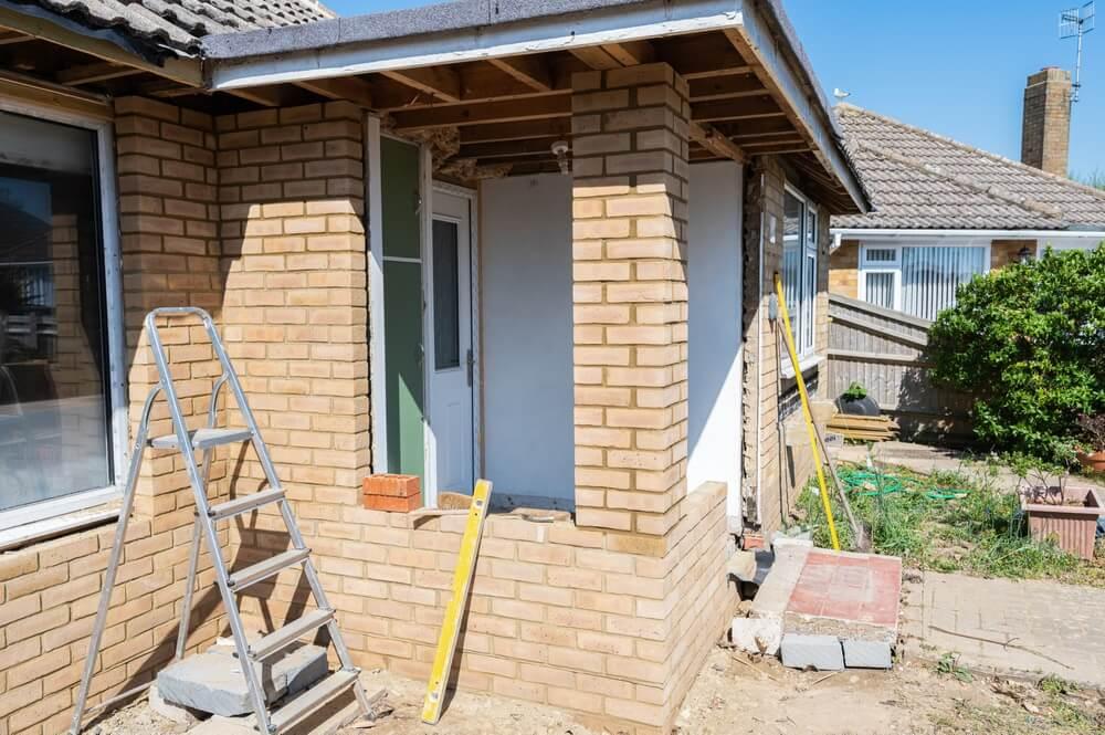 Een uitbouw of extra verdieping