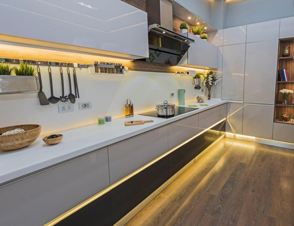 Kies voor LED verlichting in de keuken