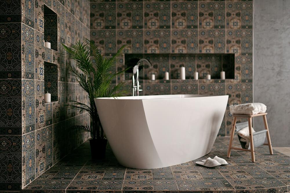 Badkamer in een oosterse stijl: 4 tips en tricks voor de inrichting
