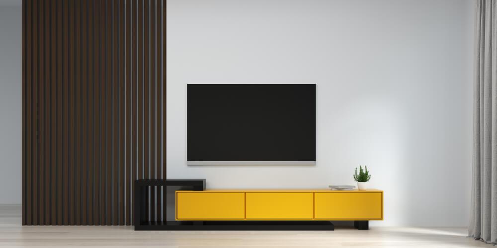 Tv-meubel in de juiste kleur