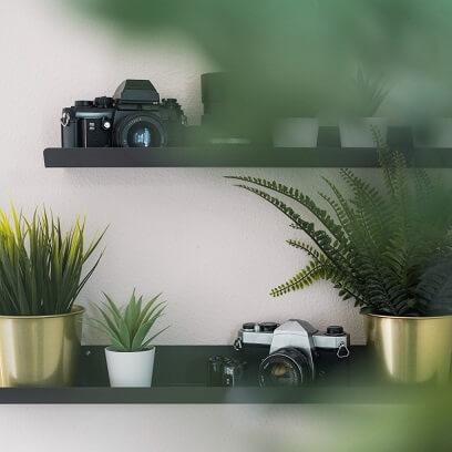 Gebruik retro items als decoratie